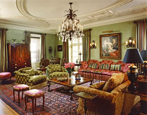 maroon and green living room portledge living room philadelphia by eberlein design consultants ltd