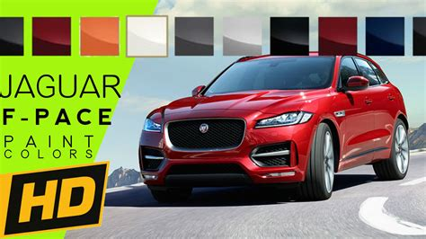jaguar colors 2017 jaguar f pace paint colors