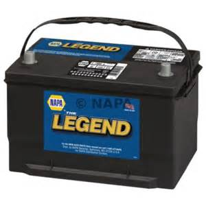 Car Battery Price Napa Battery Napa Legend 75 Month 12 Volts 65 850 Cca