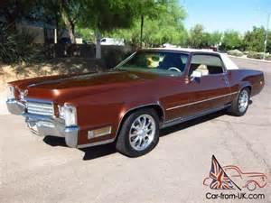500ci Cadillac 1970 Cadillac Eldorado Beautifully Restored 500ci V8