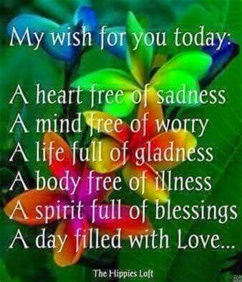 my best wishes to you morning here is my wish and prayer for each one of