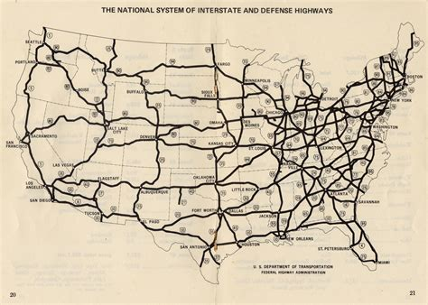 highway map of united states of america the math inside the us highway system betterexplained