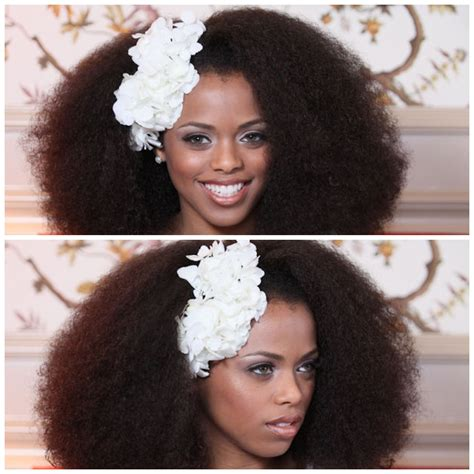 Bridal Hairstyles Afro Hair by Inspiration For Hair Brides Coordinated For You