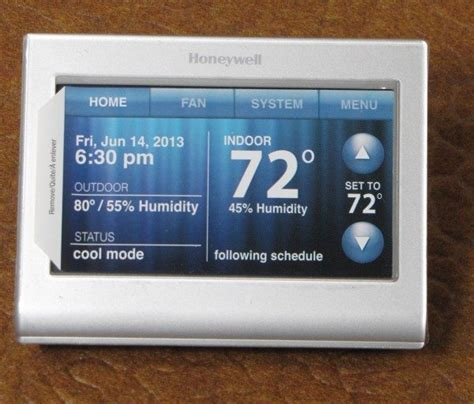 Honeywell Wi Fi Smart Thermostat review   The Gadgeteer