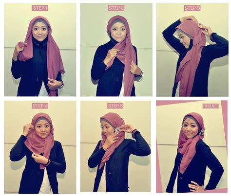 Jilbab Segi Empat Dan Cara Pemakaiannya