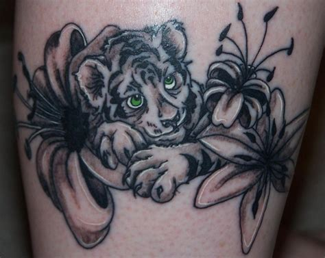 tiger with flowers tattoo designs delaney s world chuckle for the day 59 delaney s world