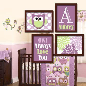 Purple And Green Nursery Decor Baby Nursery Decor Diy Room Ideas Owl Themed Baby Nursery Decor Owl Themed Nursery Ideas Owl