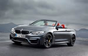 Bmw Cabrio 2015 Bmw M4 Convertible Revealed