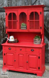 red chalk painted china cabinet 723 best images about red painted furniture on