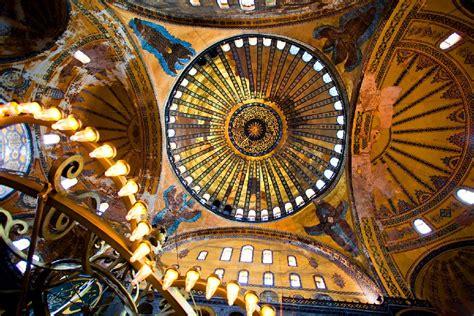 cupola di santa sofia museo santa sofia istanbul turchia