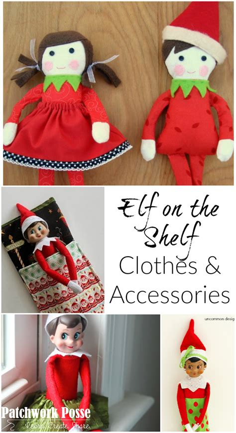 Free Elf on the Shelf Clothing Patterns and Accessories