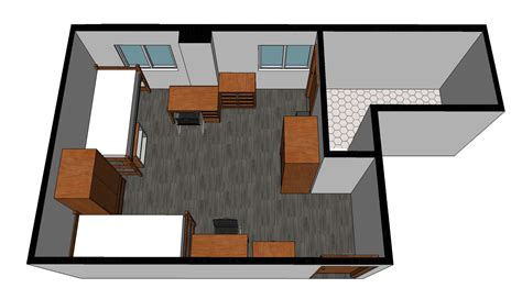 2 Story House Plan by Archer House Residence Halls University Housing
