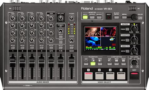 Mixer Audio Yang Bagus Roland Vr 3ex Av Mixer With Usb Port For Web Recording Go Electronic