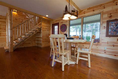 Knotty Pine and Cedar Paneling