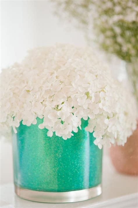 Diy glitter vases the sweetest occasion