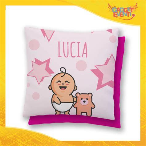 cuscino bambino cuscino bambino baby con nome personalizzabile quot bimbo