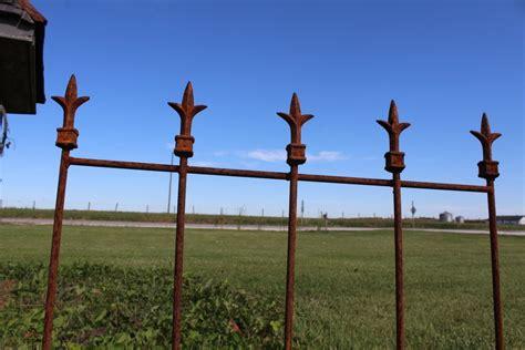 metal victorian iron fence fencing decorative garden edging