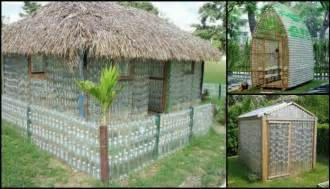 How Much To Build A Pole Barn House How To Build Your Own Recycled Plastic Bottle Greenhouse
