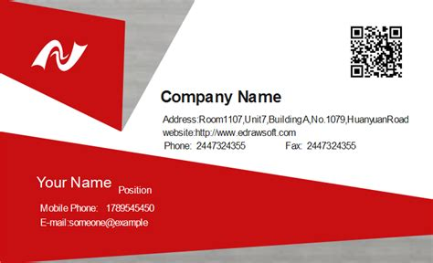 template for a business card technician business card template