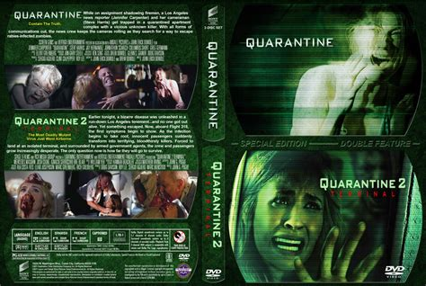 download film quarantine bluray quarantine double movie dvd custom covers quarantine