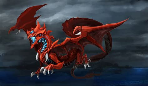 wallpaper dragon gif slifer the sky dragon thunder by slifertheskydragon on