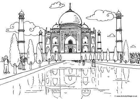 coloring pages of places around the world around the world colouring pages