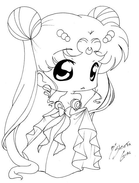 Chibi Princess By Shinta Girl On Deviantart Anime Chibi Coloring Pages Princesses Printable
