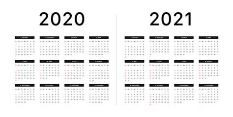 calendar   week starts  sunday basic grid vector illustration vestock