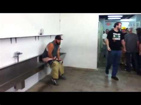 bathroom fail drunk guy epic bathroom fail youtube
