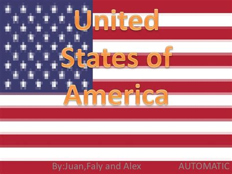 of usa usa powerpoint