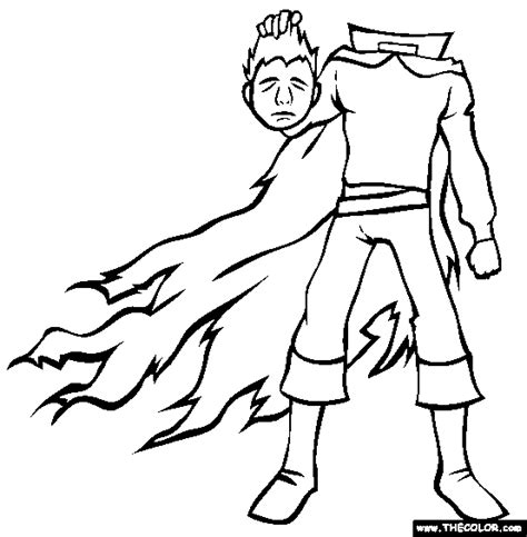 halloween coloring pages headless horseman halloween online coloring pages page 1