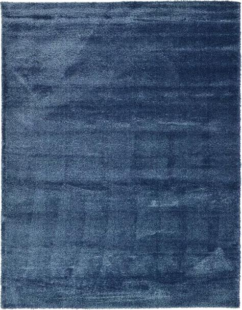 Navy Blue Luxe Solid Shag Area Rug For The Home Navy Blue Area Rug 5x7