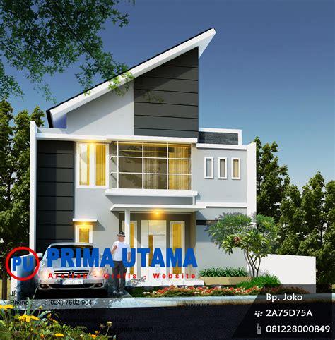 jasa desain rumah jasa arsitek rumah minimalis di semarang cv prima utama