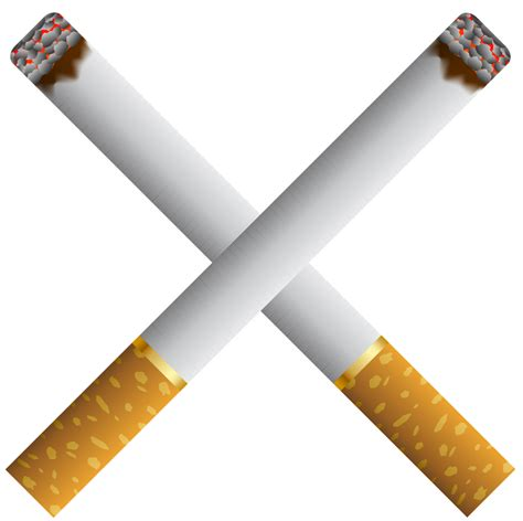 clipart png two crossed cigarettes png clipart