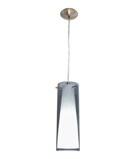 smoked glass pendant light smoked white glass pendant single