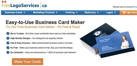 free customizable business card template 10 free business card makers with customizable templates