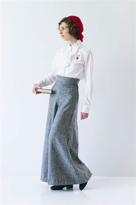 Sewing Pattern For Palazzo Pants | introducing the linden lady palazzo pants pattern
