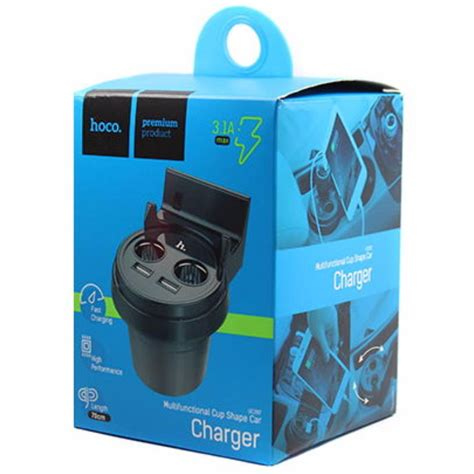 Usb Multifunction Charger 8 Port 2 And Stop Kont B35 O162 hoco uc207 multifunction car charger with 2 usb ports
