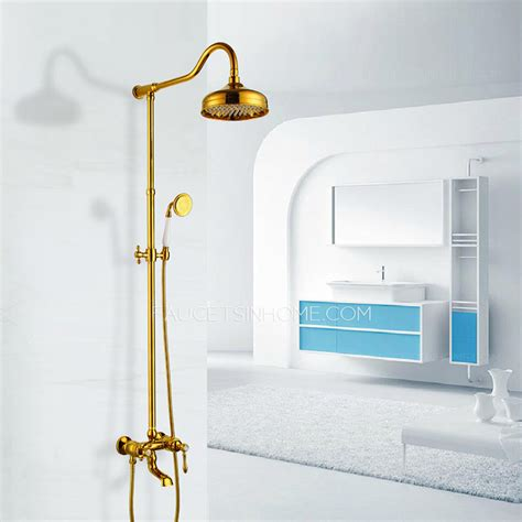 bathroom shower heads and faucets luxury polished brass outside bathroom shower head and faucets