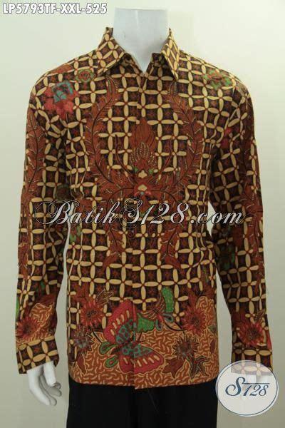 Batik Cap Laki Laki Lengan Panjang baju batik pria lengan panjang cool abis kemeja batik