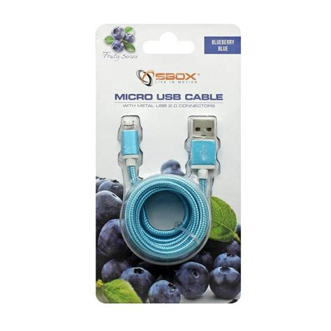 Usb Am To Am Cable 1 5 M sbox usb am micro 15bl cable usb gt micro usb m m 1 5m