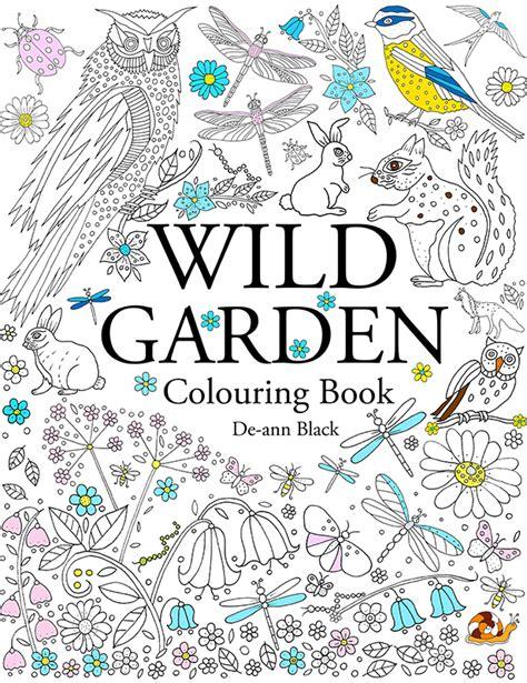 libro faerie garden spring colouring de ann black