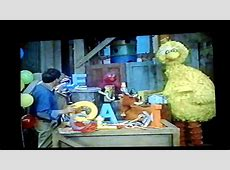 Closing To Sesame Street Learning About Letters 1996 VHS ... Sesame Street Monster Hits