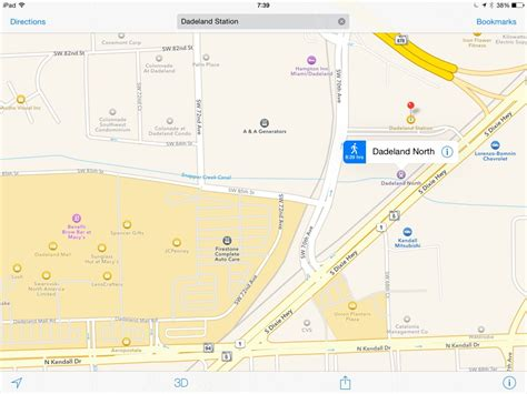 dadeland mall map august 2015 travelling banana