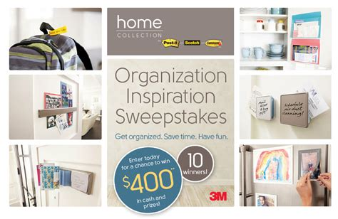 Cash Prize Sweepstakes 2016 - win cash prizes with the organization inspiration sweepstakes from 3m 2016