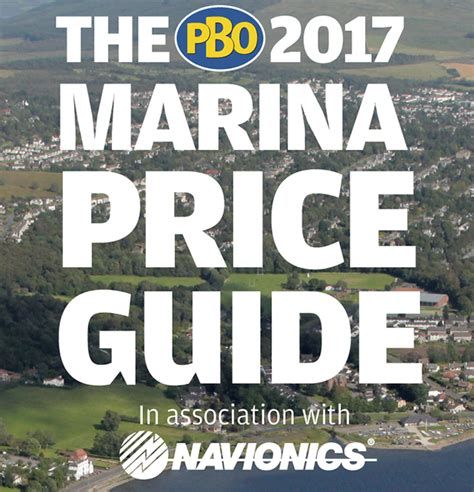 boating charts online pbo s marina price guide now improved with boating charts