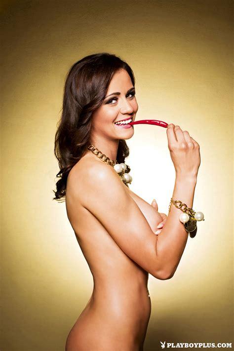Manja Dobrilovic Nude Slovenia Playboy Redbust
