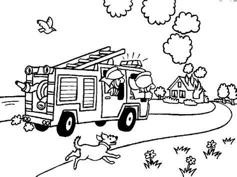 free printable vire coloring pages fireman coloring pages coloringpages1001 com