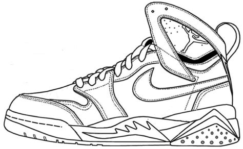 printable coloring pages nike shoes kd basketball shoes coloring sheets gulfmik d3ea70630c44
