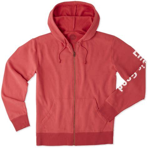 Lifeisgood Sweatshirt Black s hoodies is official website